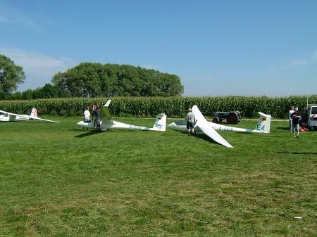 Flugbertrieb Startaufbau